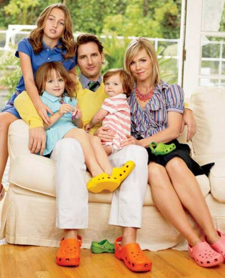 Дженни Гарт о нелюбви к примерочным и своих дочерях