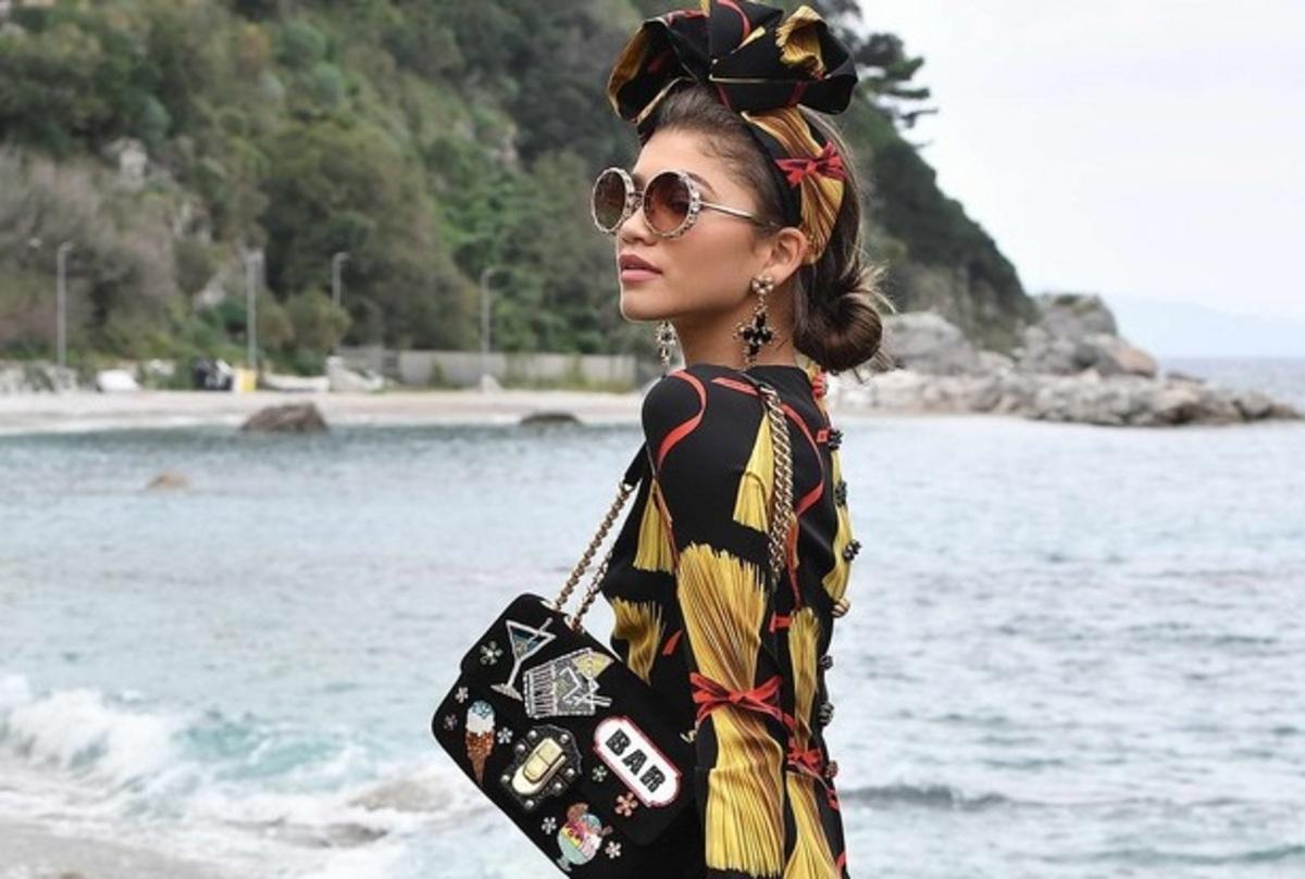 Зендая снялась в новой рекламной кампании Dolce & Gabbana