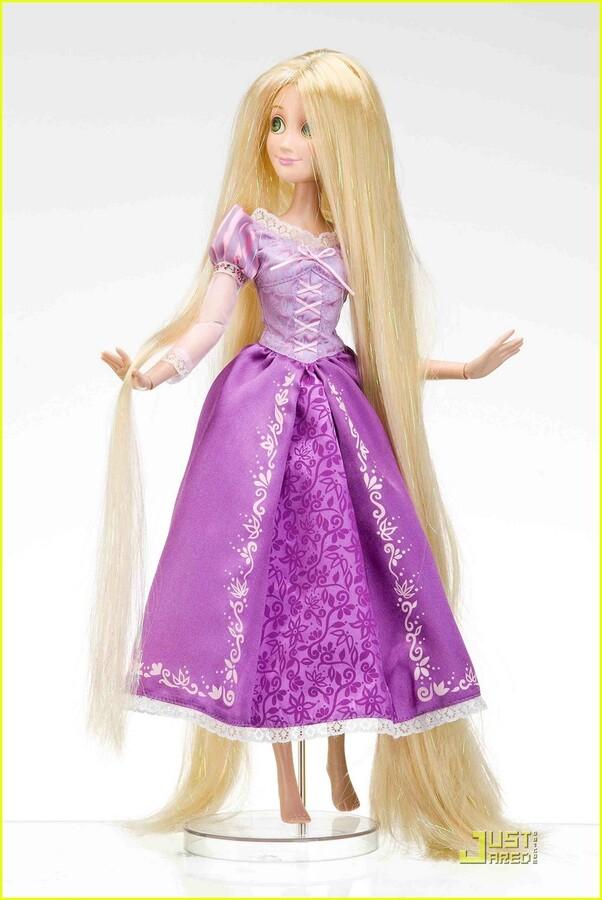 Скоро в продаже кукла Рапунцель