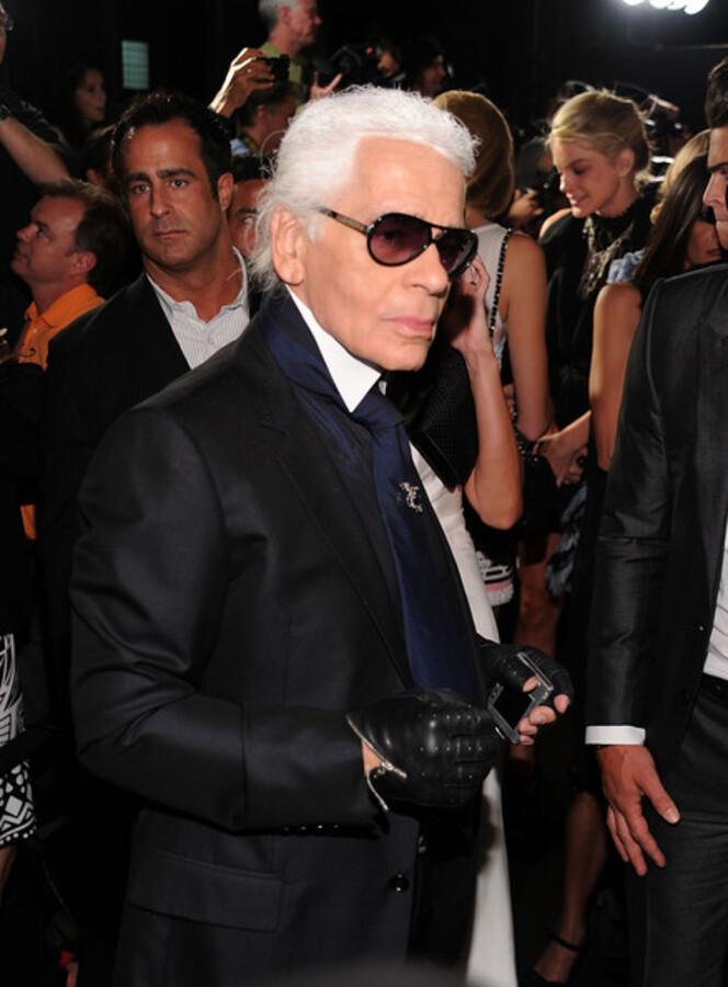 Карл Лагерфельд и другие звезды отметили открытие бутика Chanel в Сохо