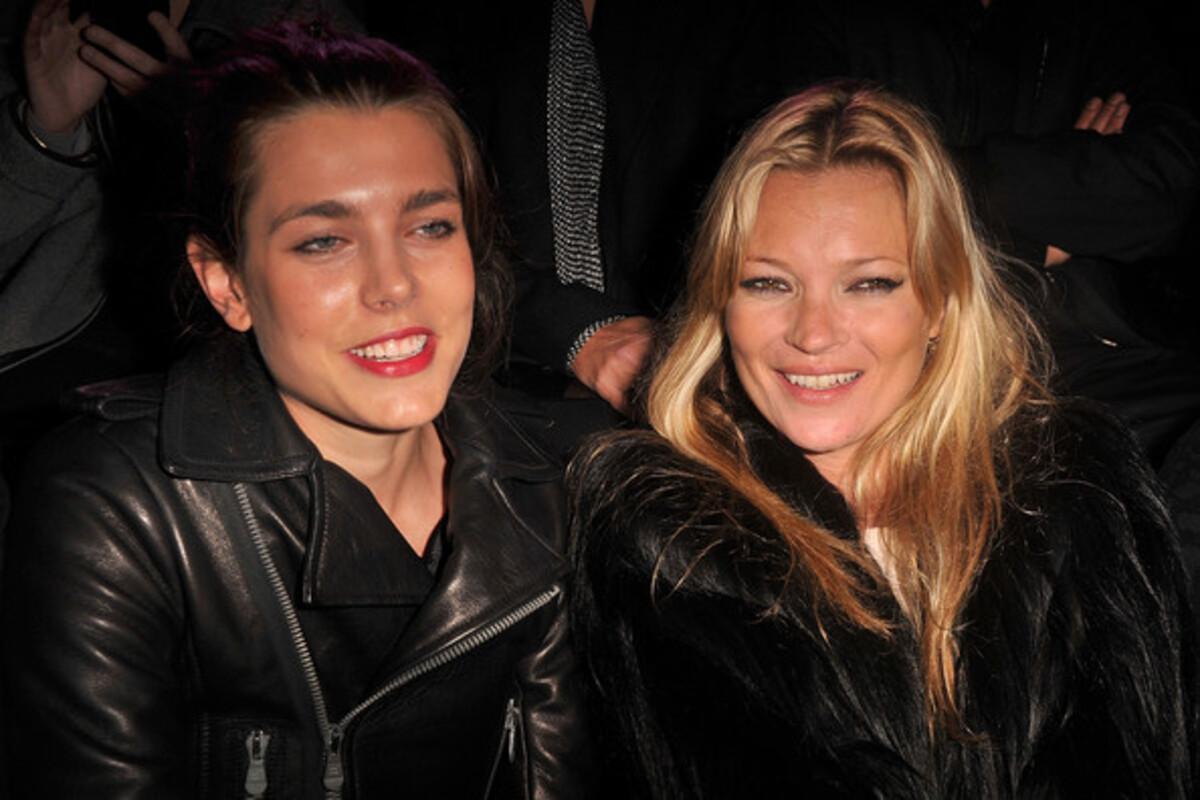 Кейт Мосс на показе Etam в Париже