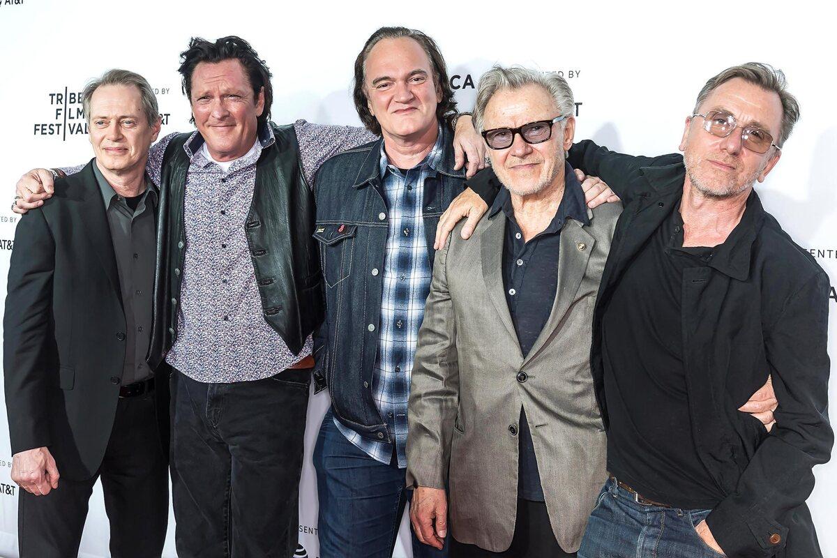 Квентин Тарантино и звезды «Бешеных псов» отпраздновали 25-летие фильма