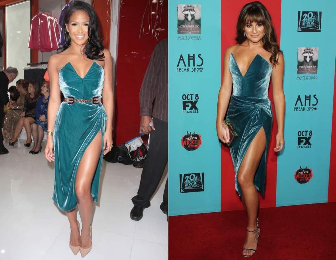 Fashion battle: Кэсси и Лиа Мишель