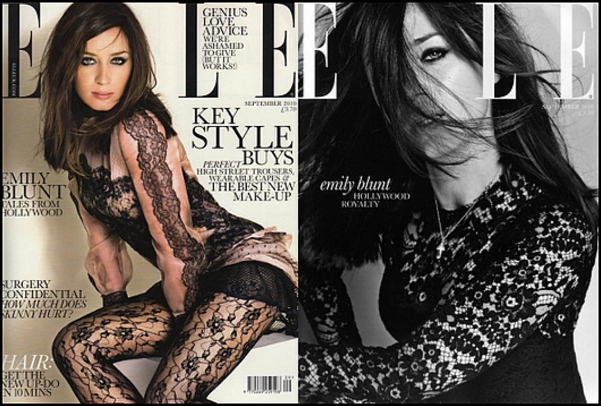 Эмили Блант в журнале Elle UK