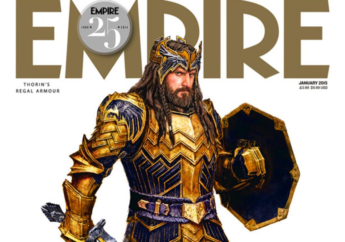Воинственный Торин на обложке Empire и новые кадры «Хоббита»