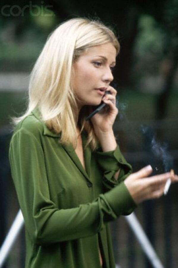 Как Гвинет Пэлтроу бросила курить