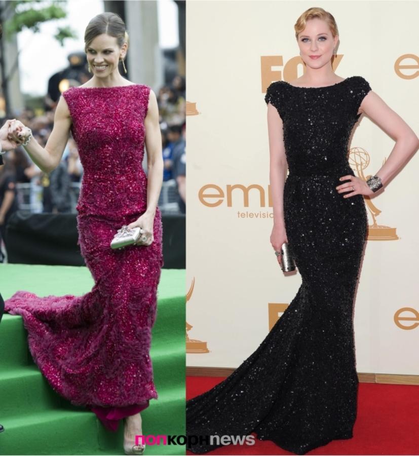 Fashion Battle: Хилари Суонк и Ивэн Рэйчел Вуд