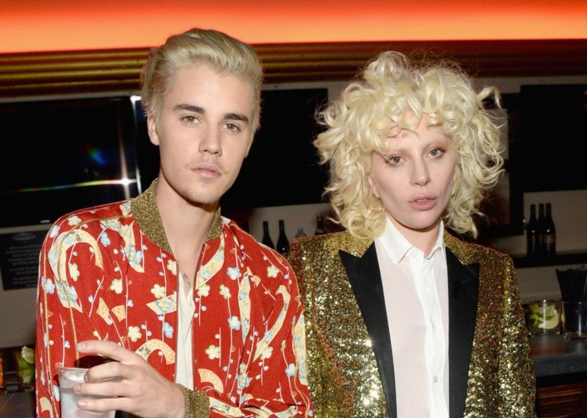 Джастин Бибер, Леди Гага и другие звезды на модном показе Saint Laurent