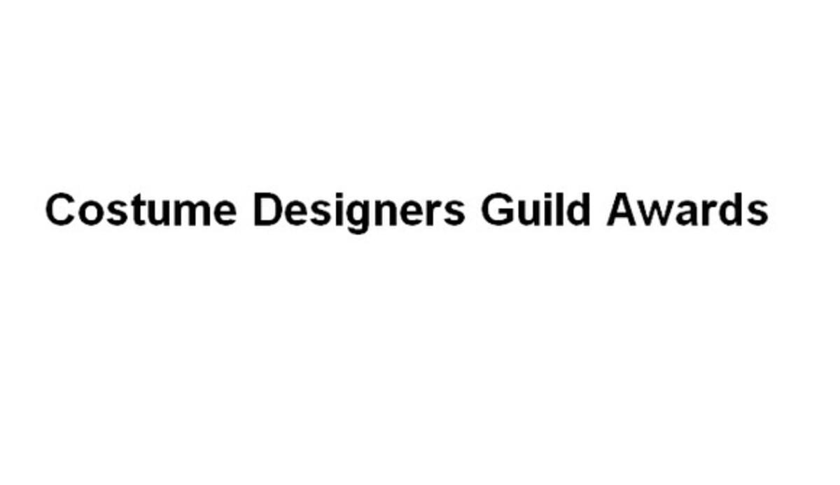 13-я ежегодная премия Costume Designers Guild Awards