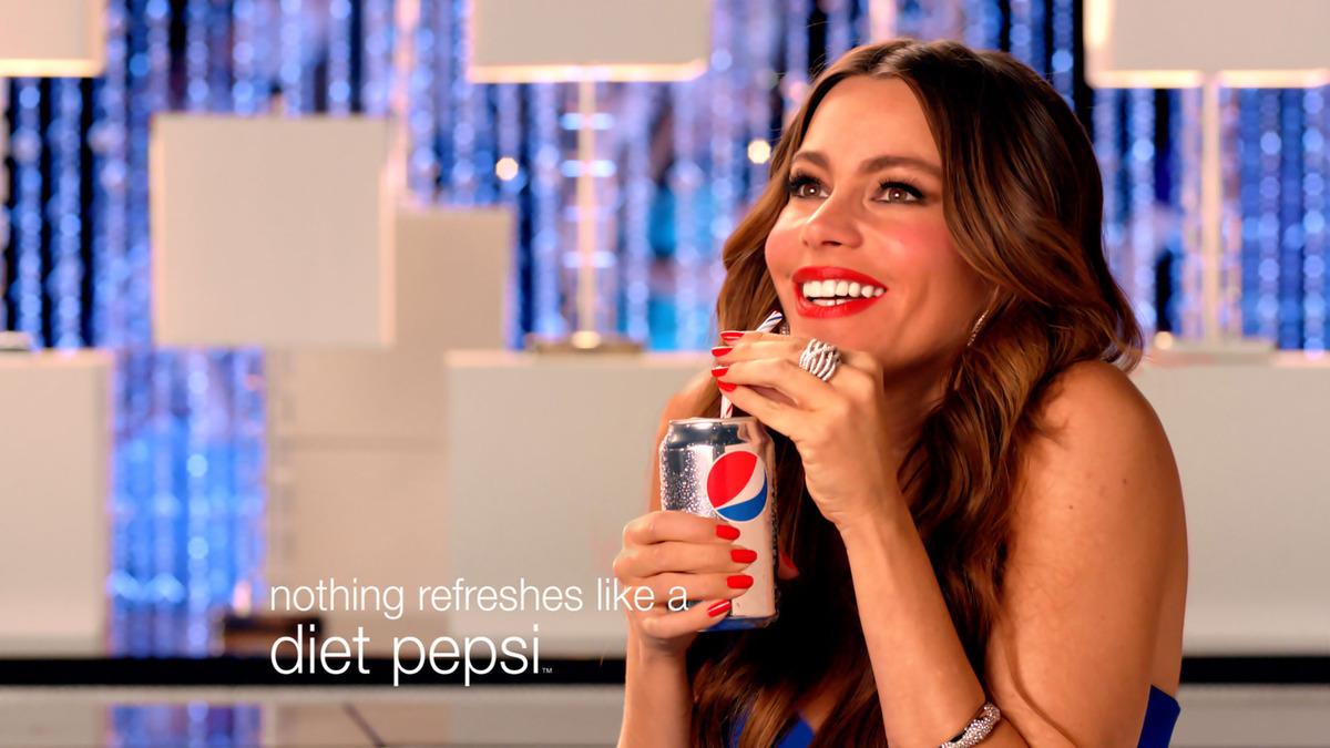 София Вергара в рекламе Pepsi