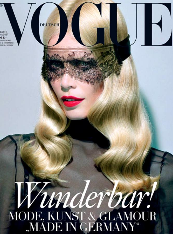 Клаудиа Шиффер в журнале Vogue Германия. Август 2011