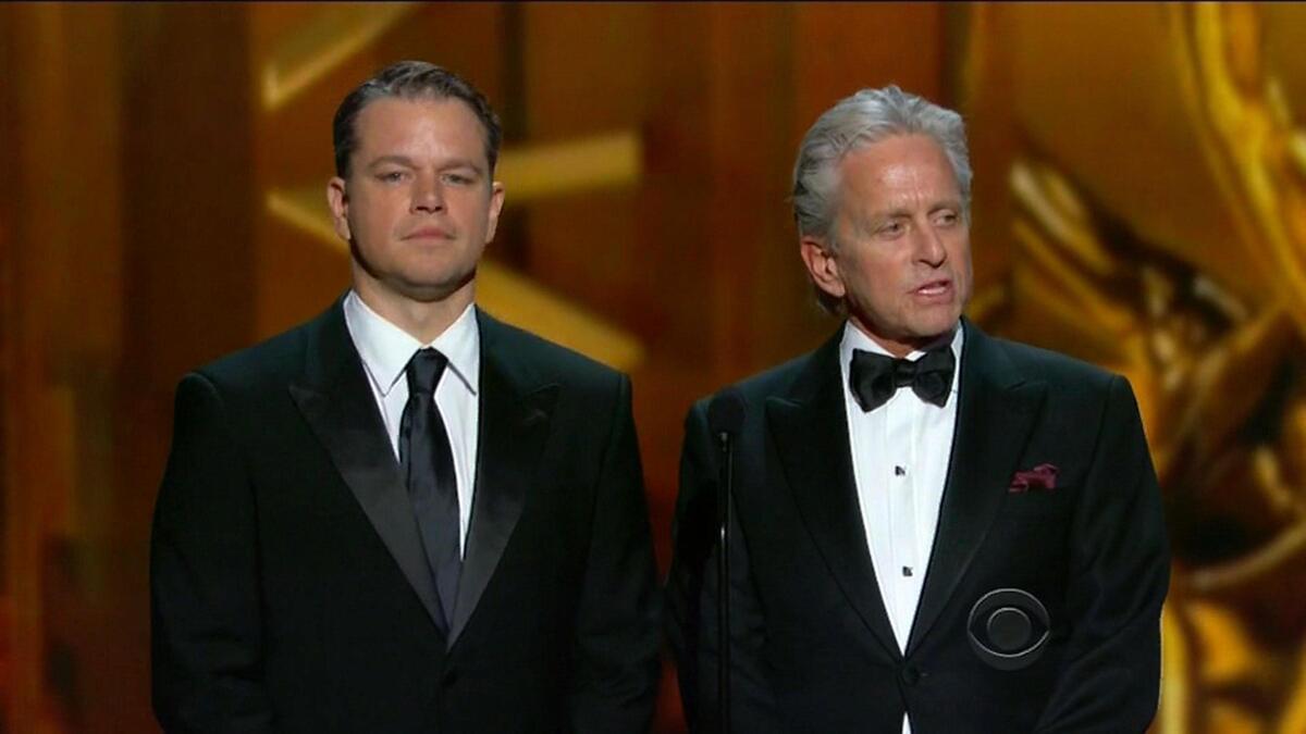"""Видео: Мэтт Дэймон не получил """"Золотой глобус"""", но произнес победную речь"""
