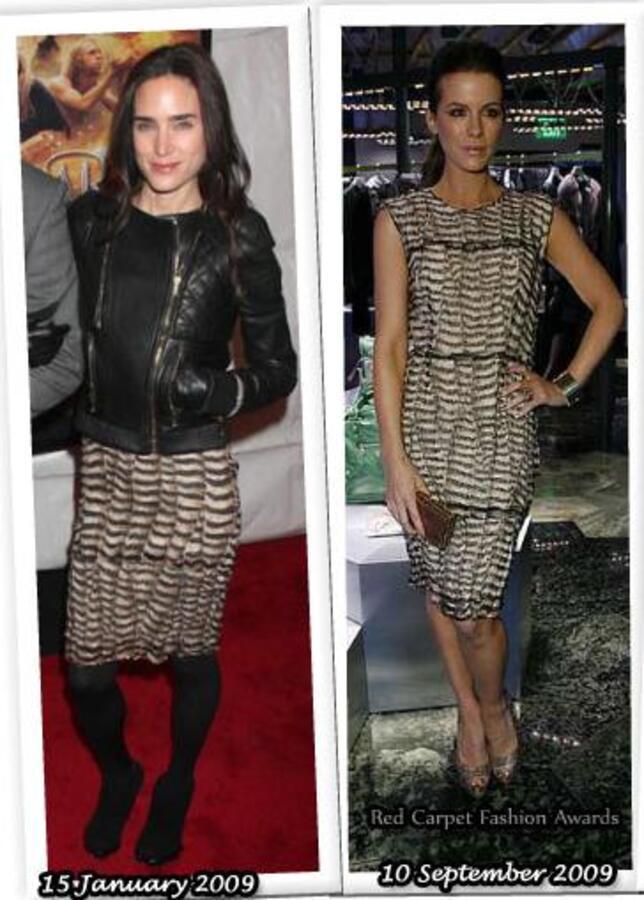 Fashion battle: Дженнифер Коннели и Кейт Бекинсэйл