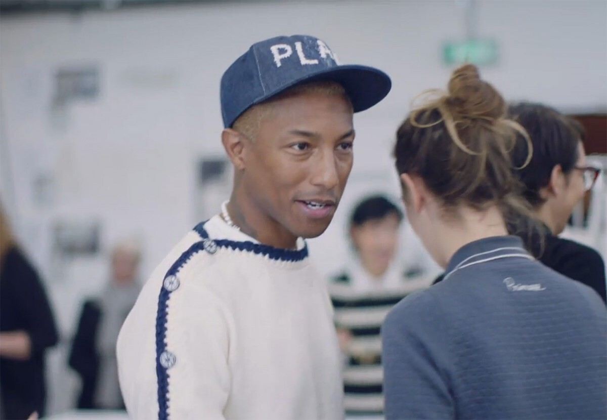 Chanel объявили о сотрудничестве с Фарреллом Уильямсом