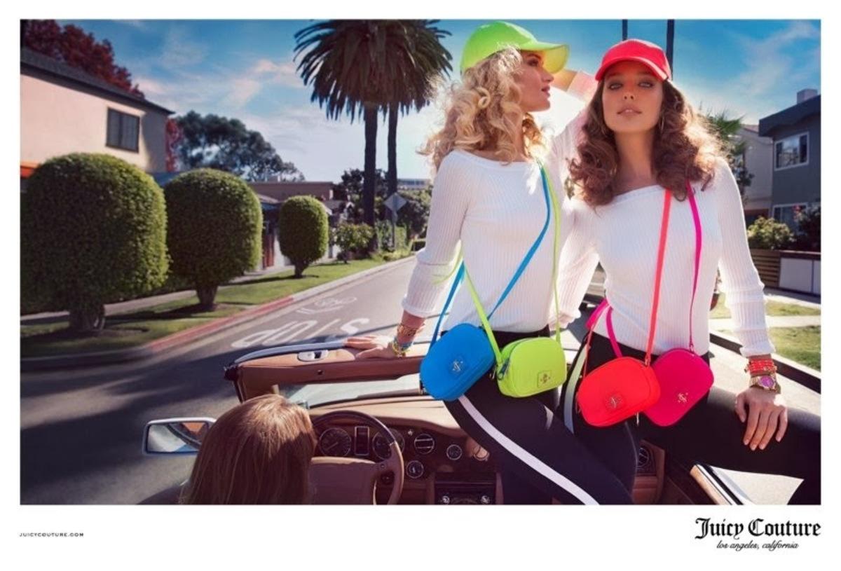 Роузи Хантингтон-Уайтли в рекламной кампании Juicy Couture. Весна 2014