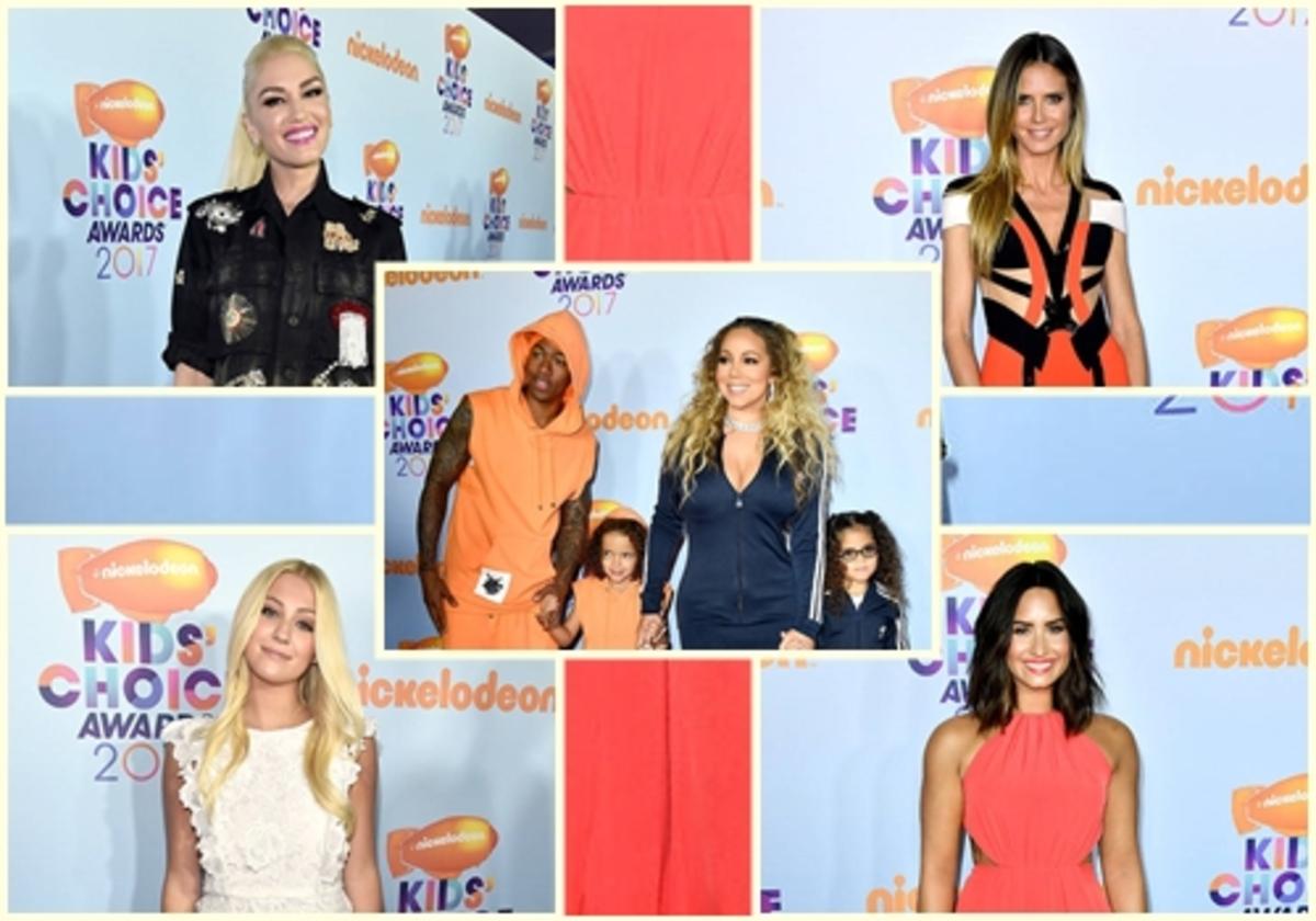 Гвен Стефани, Мэрайя Кэри, Хайди Клум и другие звезды на Kids Choice Awards 2017