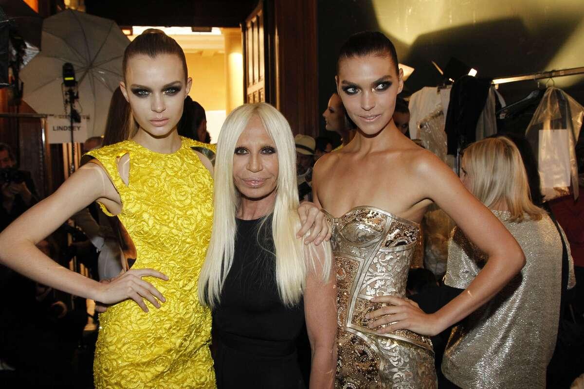Показ новой коллекции Versace Haute Couture. Весна / лето 2012