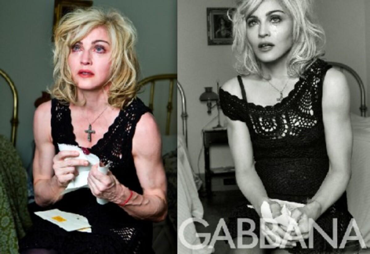 Фотографии Мадонны без фотошопа