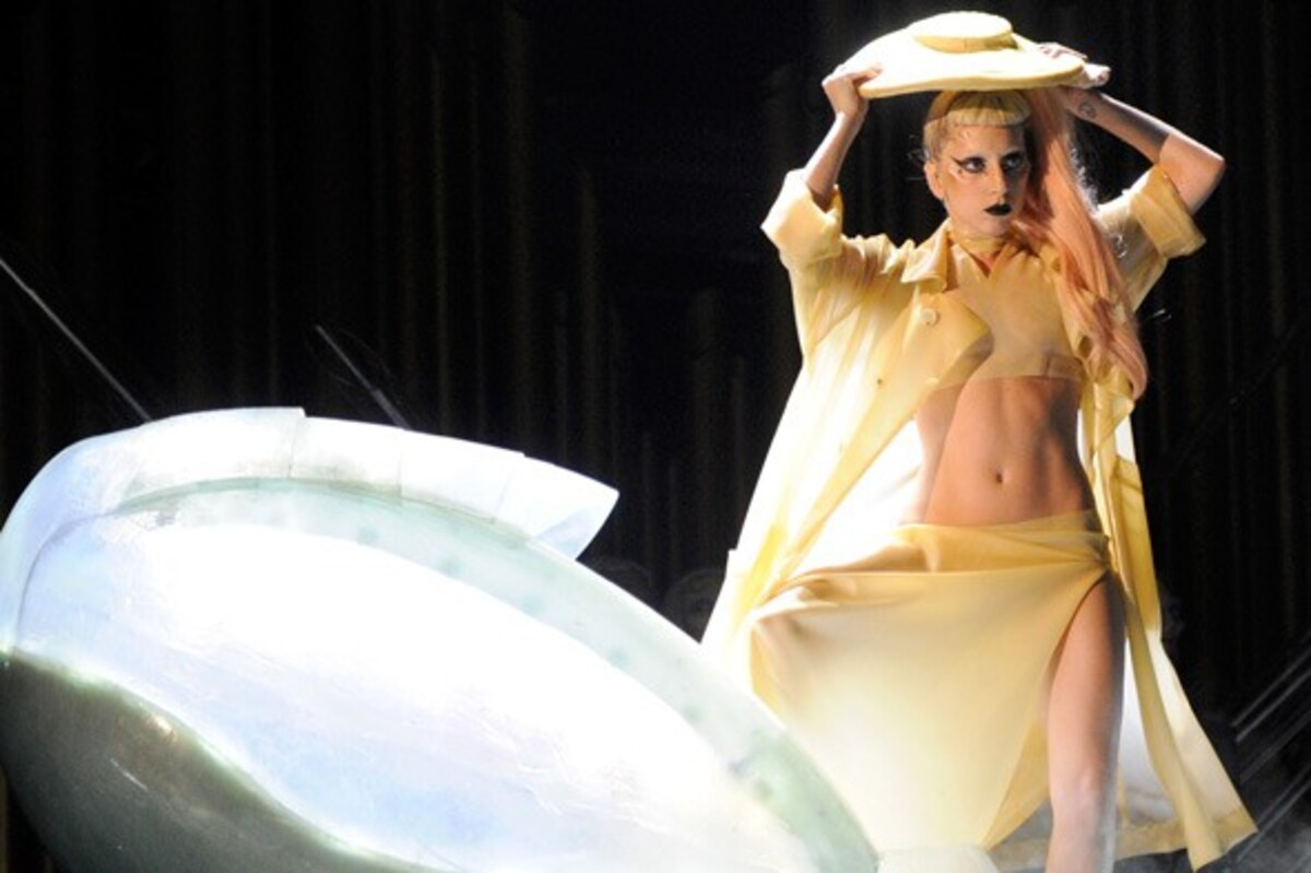 Lady GaGa установила дома яйцо-кровать