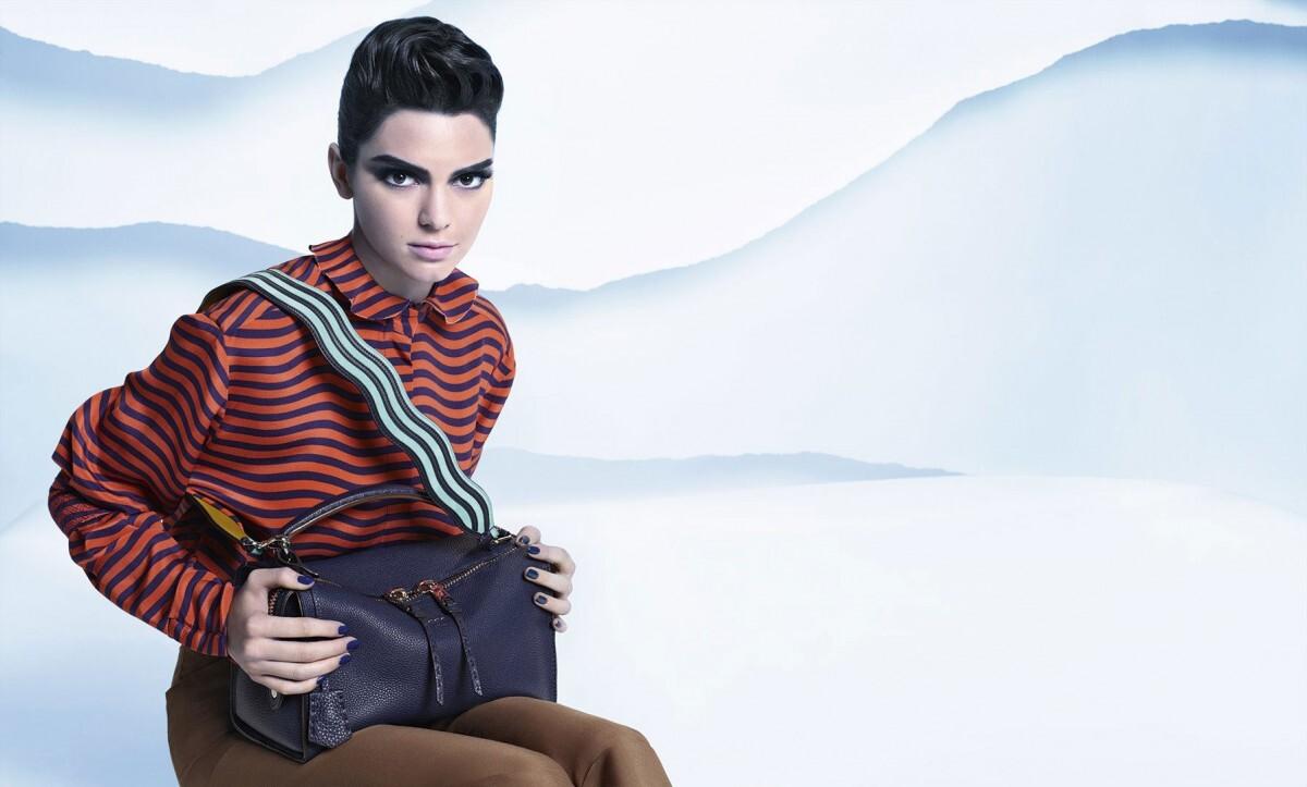 Кендалл Дженнер в рекламной кампании Fendi: первый взгляд