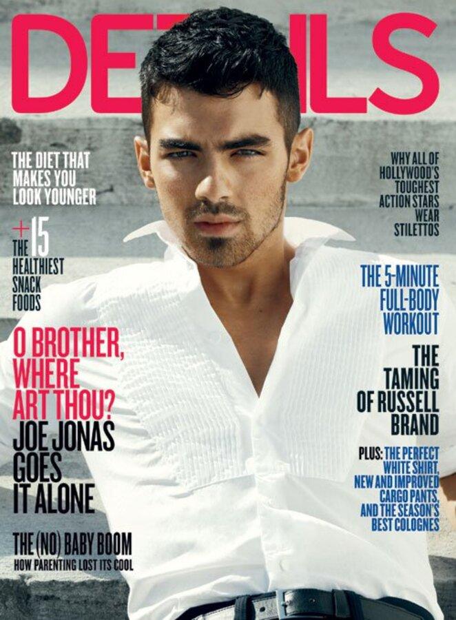 Джо Джонас в журнале Details. Апрель 2011