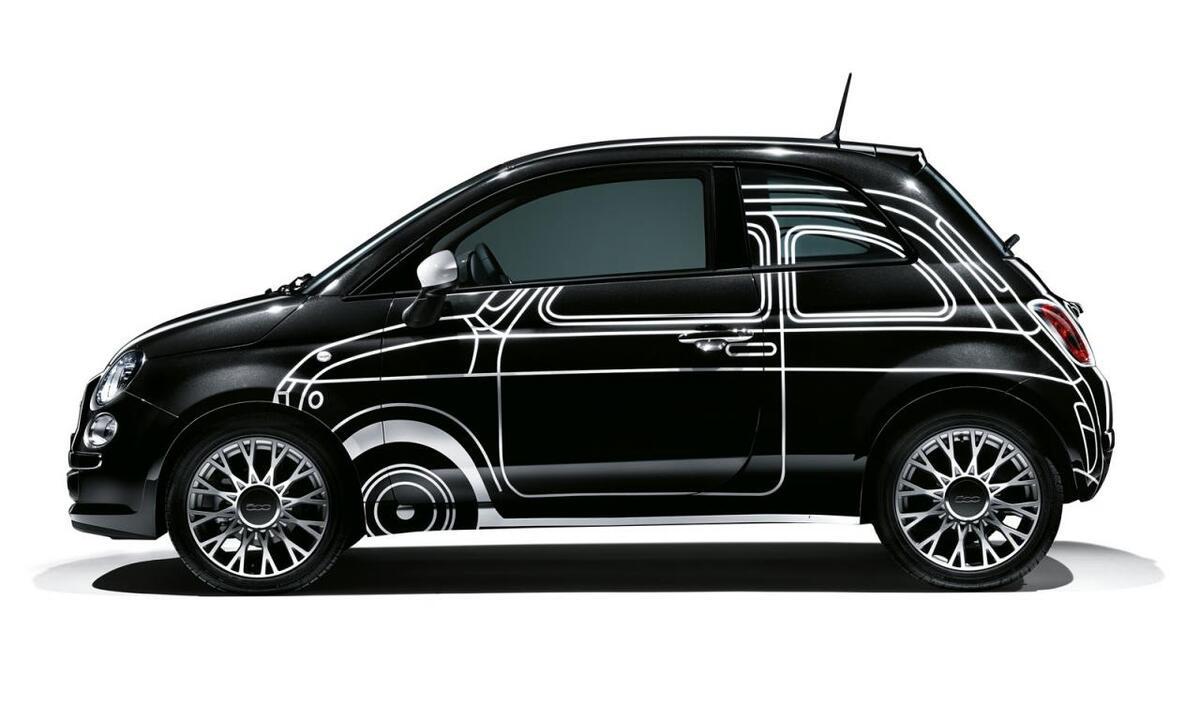 Трилогию Fiat 500 Couture представили на неделе моды в Париже