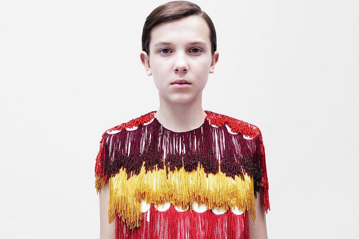 """12-летняя звезда """"Очень странные дела"""" Милли Бобби Браун стала лицом Calvin Klein"""