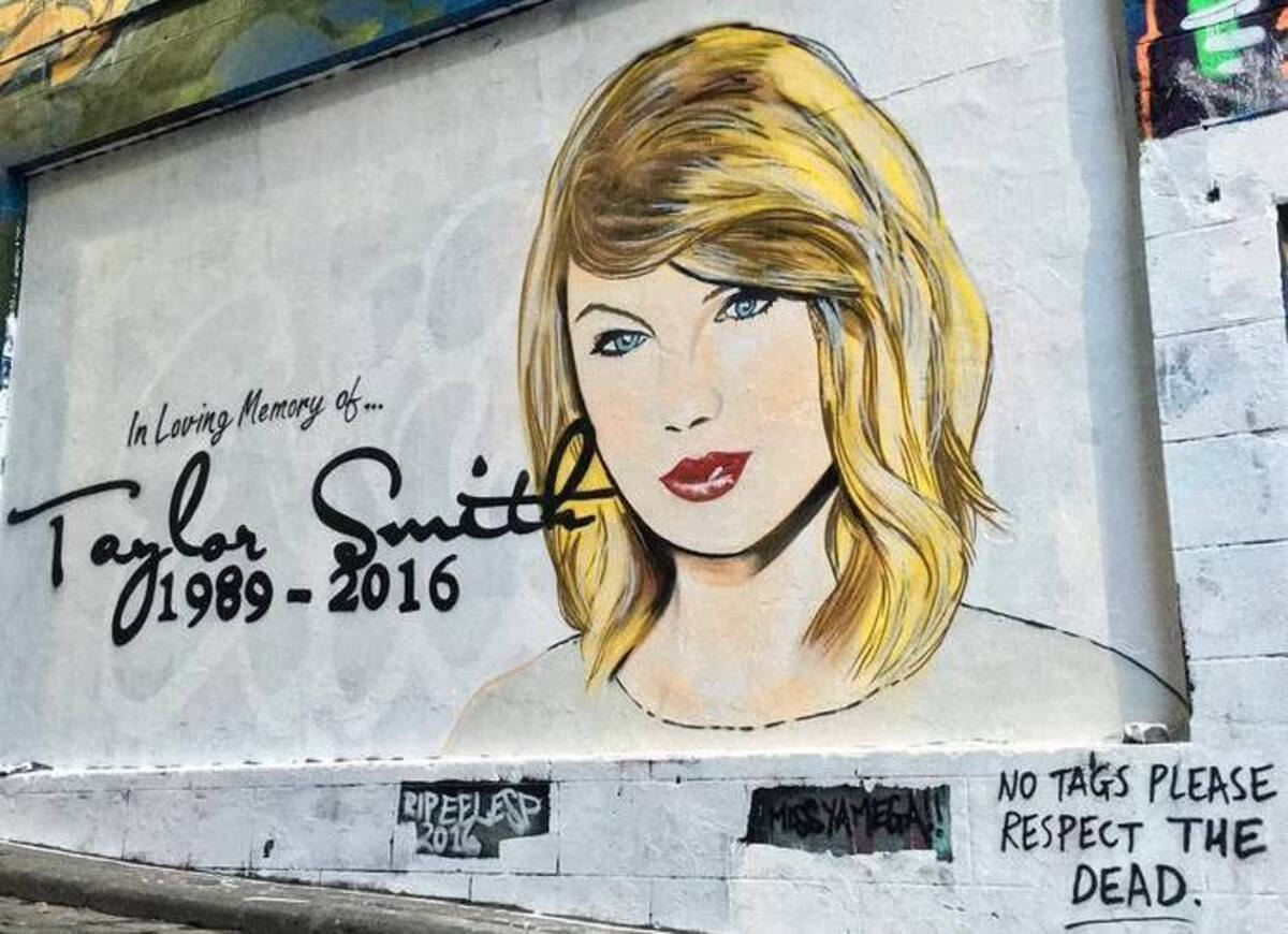Тейлор Свифт «похоронили» в Мельбурне
