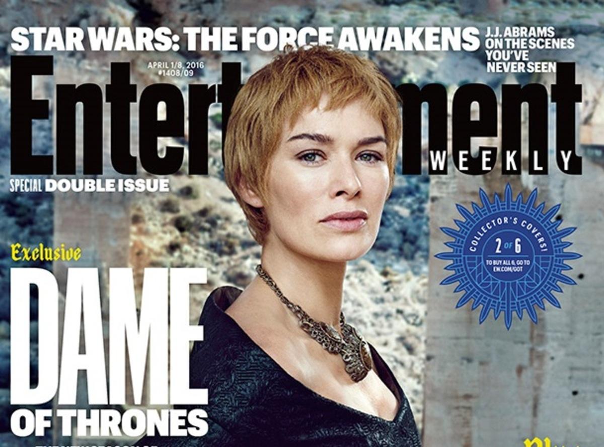 «Королевы Игры престолов»: звезды сериала на обложках EW