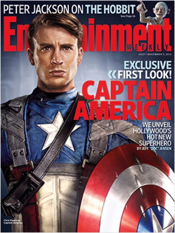 "Первый взгляд на ""Капитана Америку"" в журнале Entertainment Weekly"