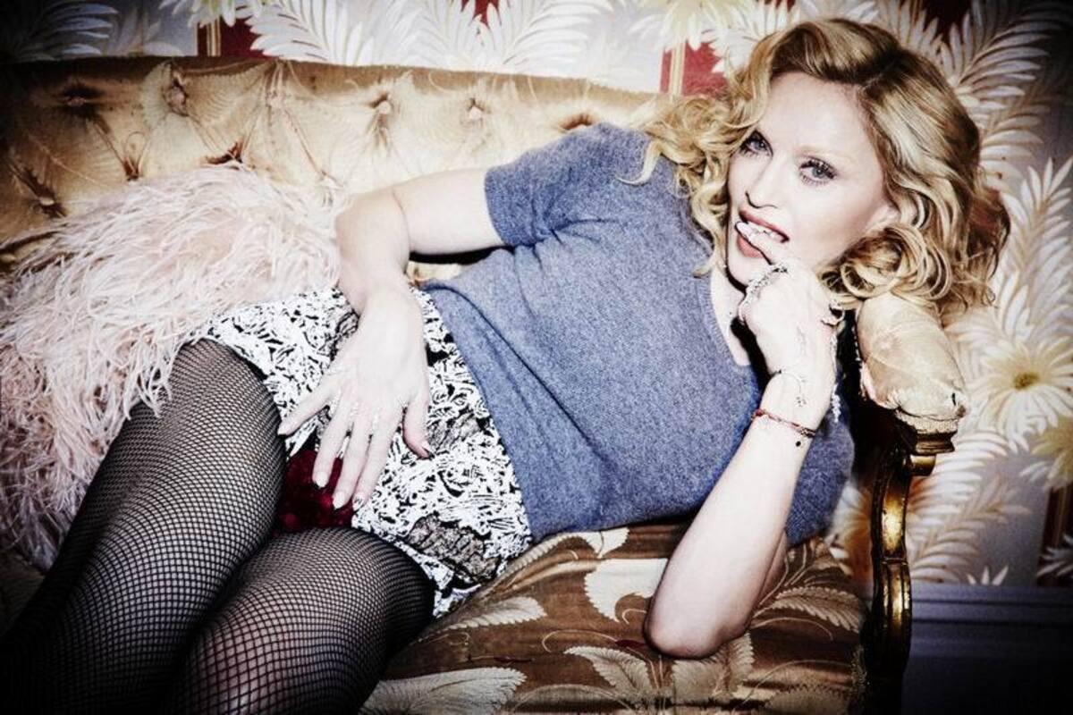 Мадонна в откровенной фотосессии для журнала Cosmopolitan. Май 2015