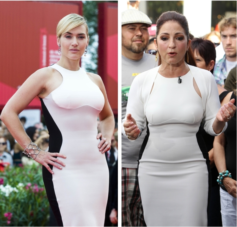 Fashion Battle: Кейт Уинслет и Глория Эстефан