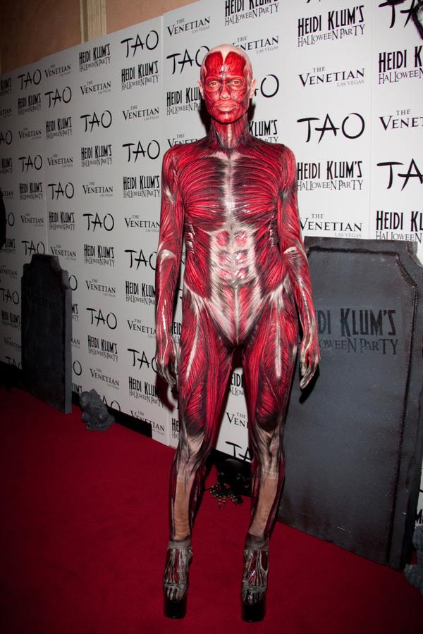 Хайди Клум - королева Хэллоуина