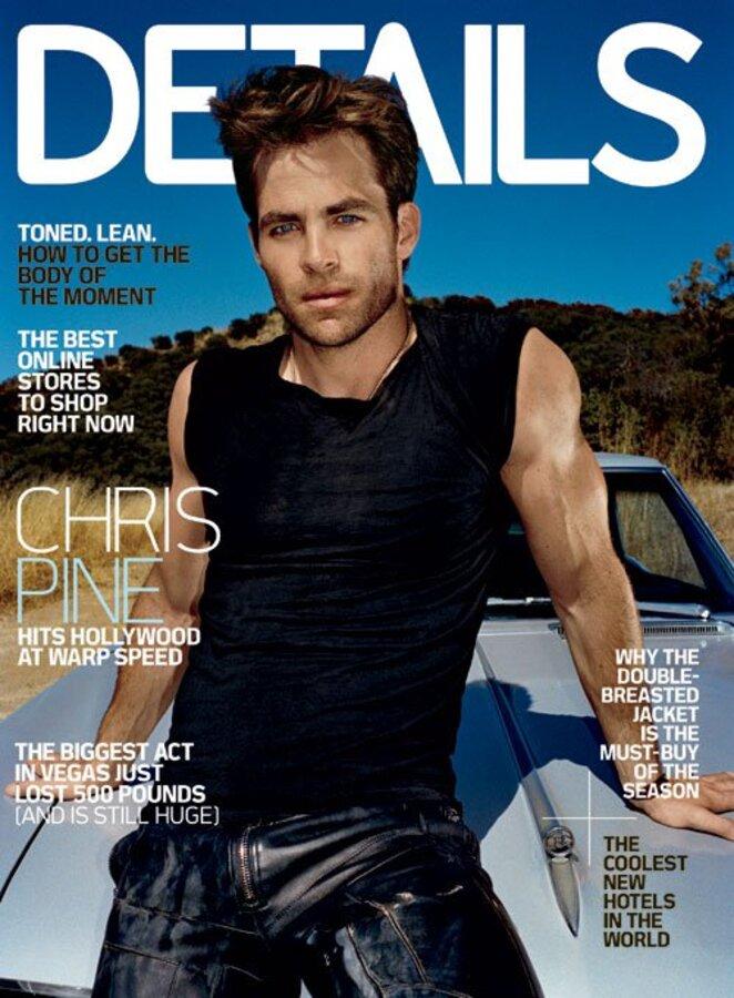 Крис Пайн в журнале Details. Ноябрь 2010