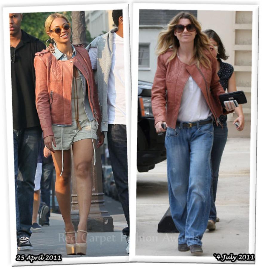 Fashion Battle: Бейонсе и Эллен Помпео