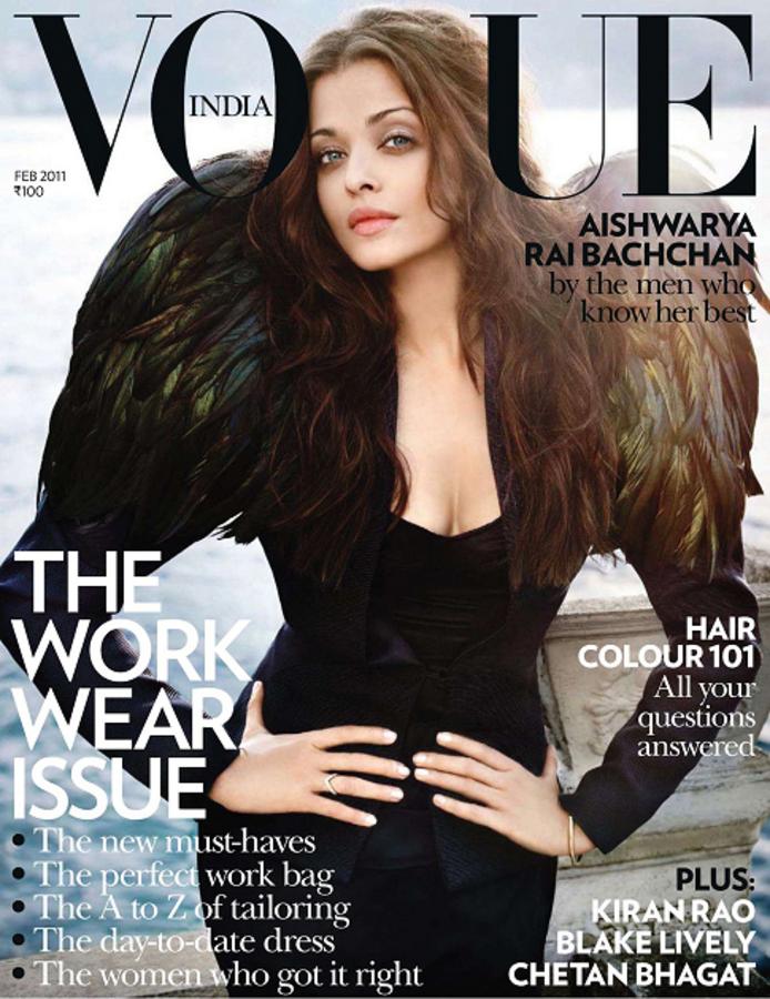 Айшвария Рай в журнале Vogue. Индия. Февраль 2011