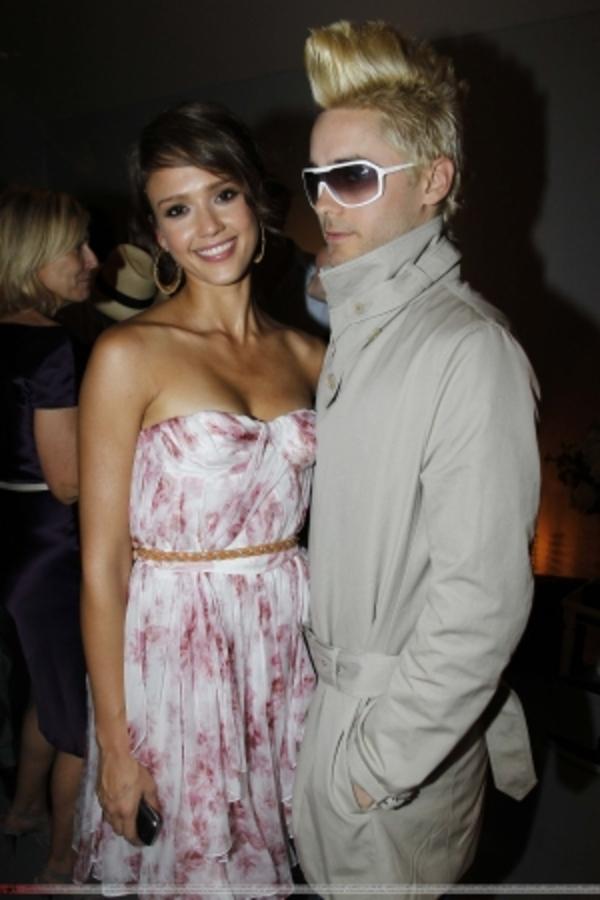 Джаред Лето и Джессика Альба на показе Christian Dior Осень/Зима 2011