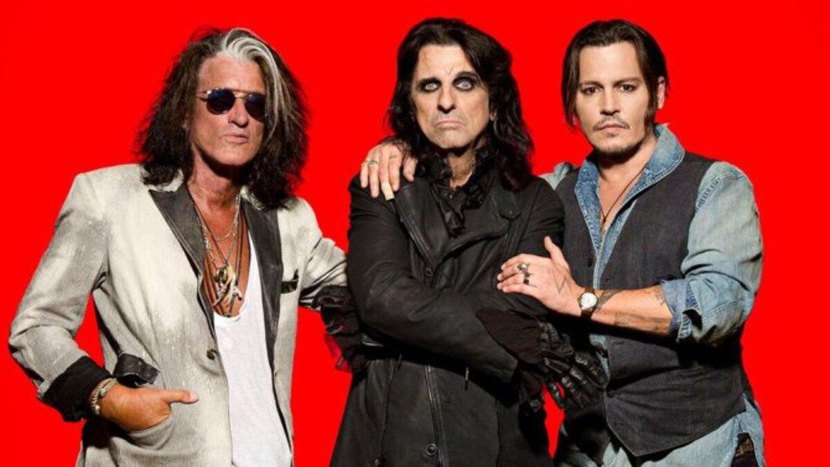 Джонни Депп и Hollywood Vampires отправятся в международный концертный тур