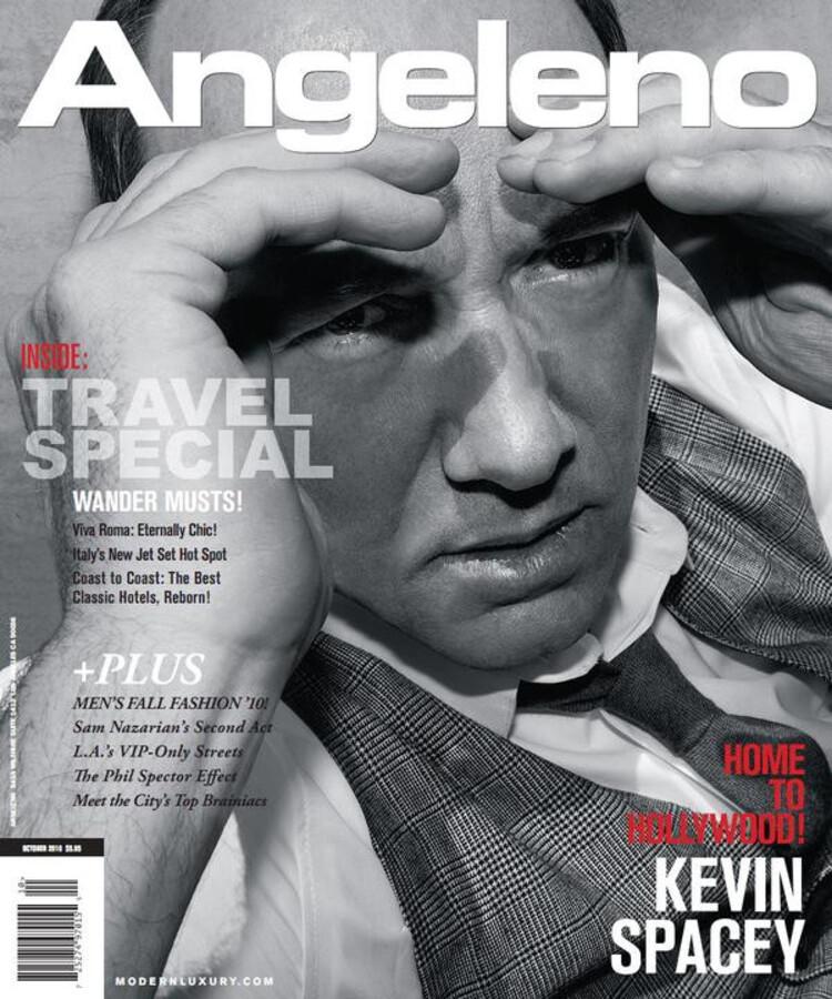 Кевин Спейси в журнале Angeleno
