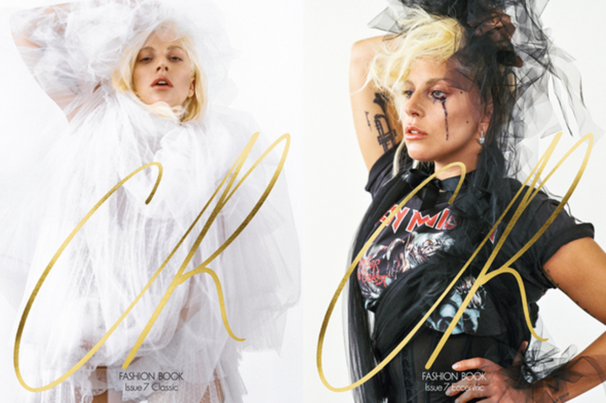 Фото: Леди Гага снялась без Photoshop'a для CR Fashion Book