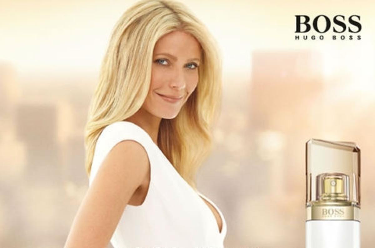 Гвинет Пэлтроу в рекламном ролике аромата Hugo Boss - Boss Jour Pour Femme