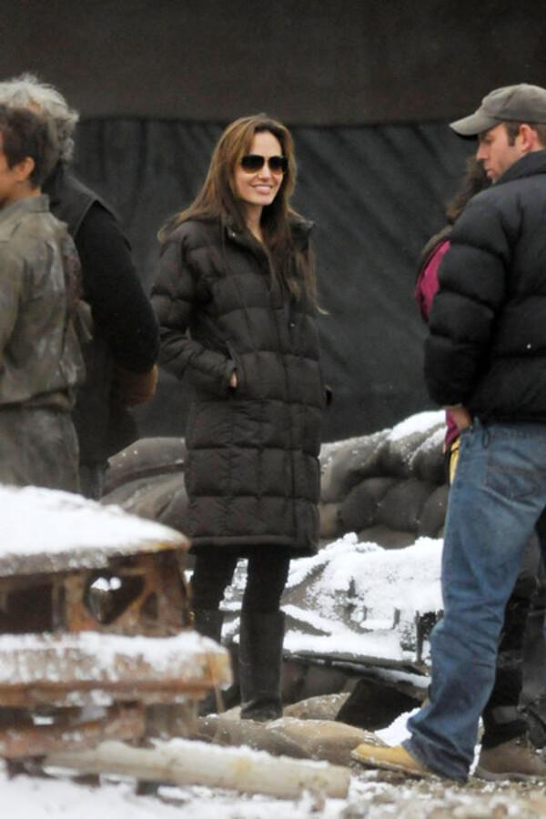 Решительно настроенная Анджелина Джоли