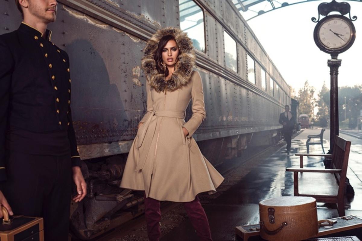 Ирина Шейк снялась в новой рекламной кампнии Bebe Be Iconic