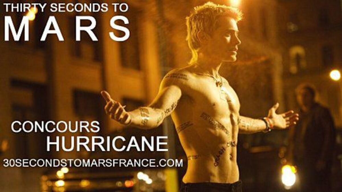 Клип 30 Seconds to Mars - Hurricane