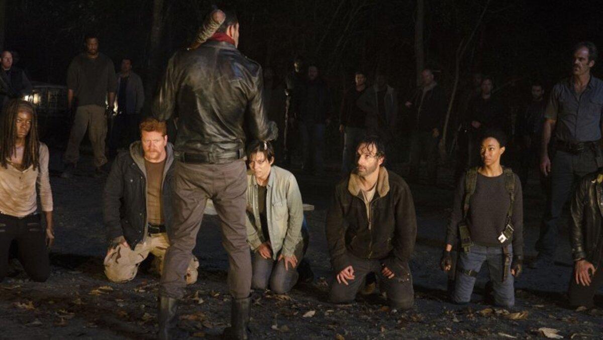 Представлен первый тизер 7 сезона «Ходячих мертвецов»