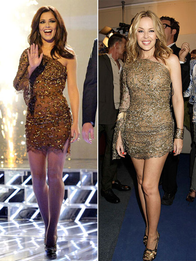 Fashion Battle: Шерил Коул и Кайли Миноуг