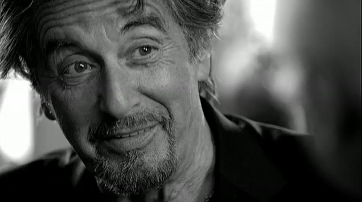 Видео: Аль Пачино в рекламе кофе Vittoria