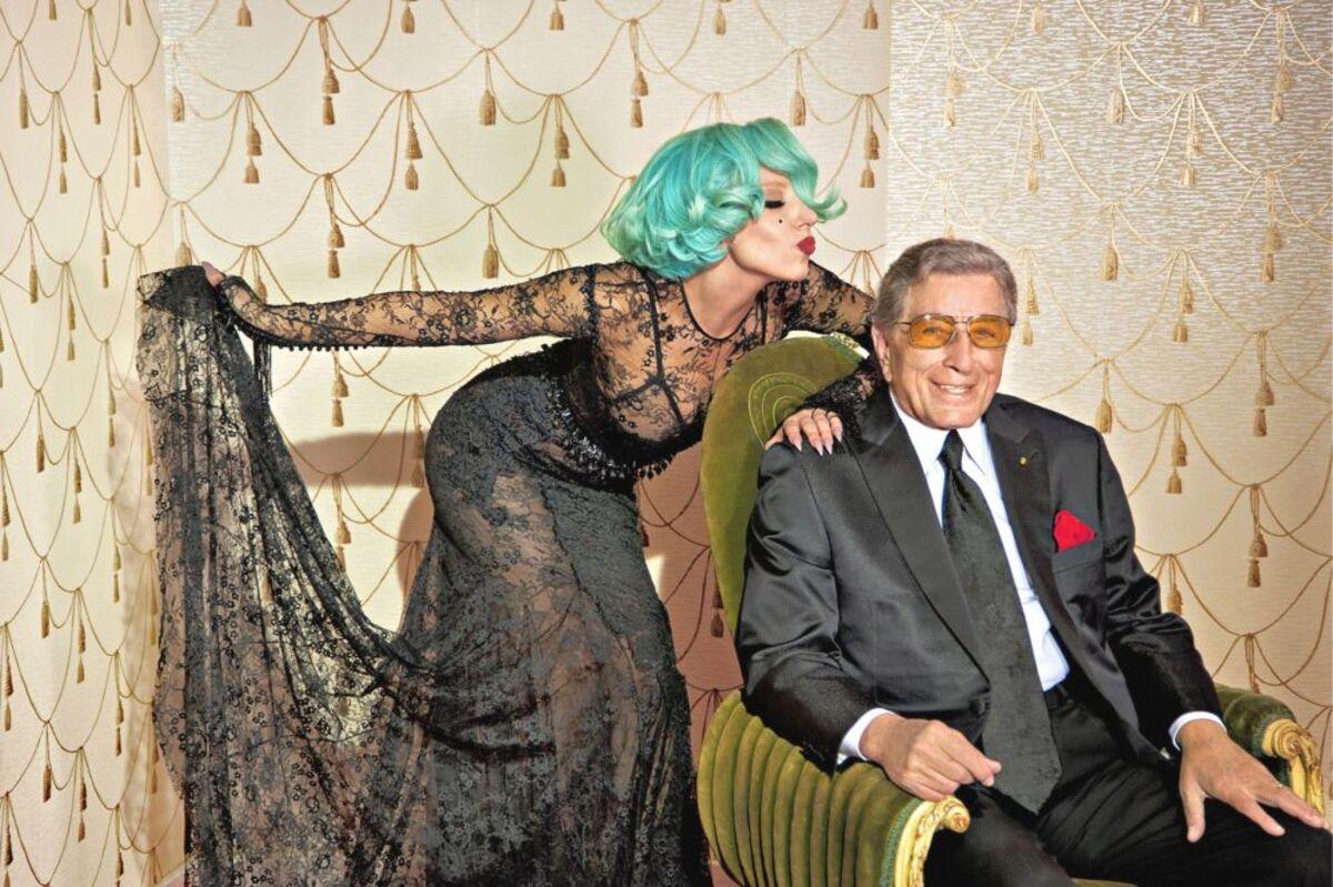 """Новый клип Lady Gaga и Тони Беннетт - """"The Lady Is A Tramp"""""""