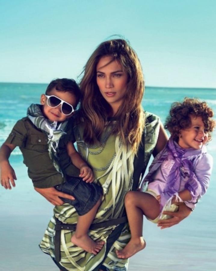 Дженнифер Лопес о том, как вернуть прежнюю форму после родов