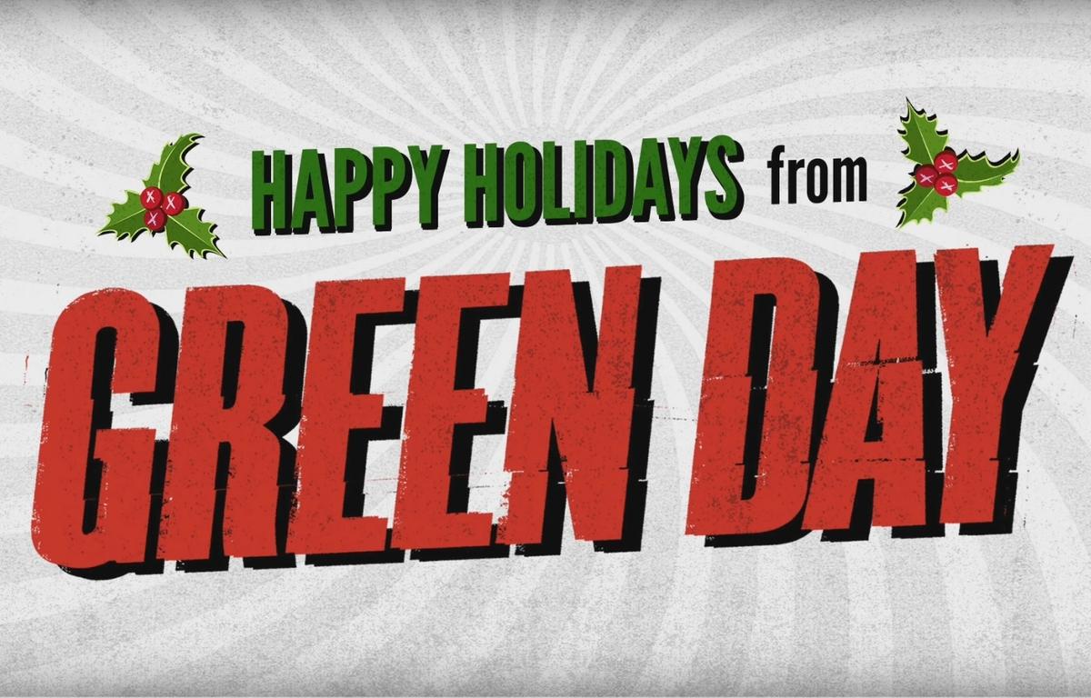 Green Day представили новый рождественский гимн Xmas Time of the Year